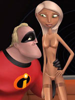 The Incredibles this super family have really super sex