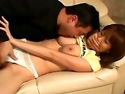 Busty japanese hottie gets fucked