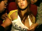 Chikan breast groping hot video