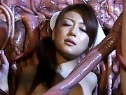 Alien tentacle sex video